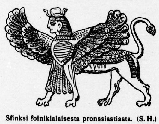 Siivekäs sfinksi / Kansalliskirjaston digitoidut aineistot